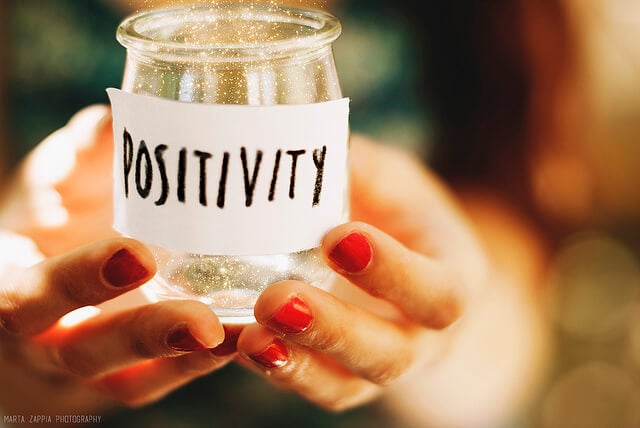 Jar of positivity to make good things happen