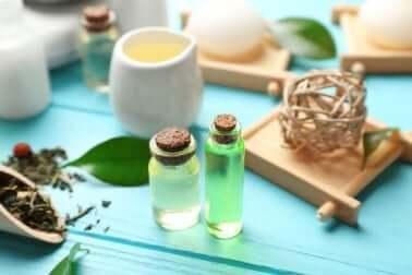 Tea tree oil.