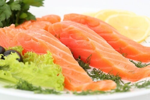Avoid Getting the Flu by eating lots of salmon
