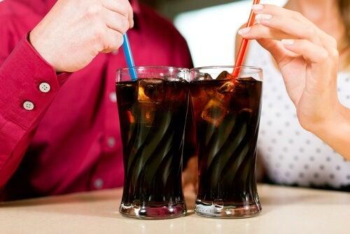 Carbonated sodas.