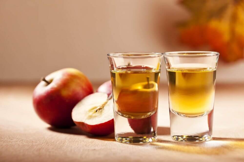 Apple cider vinegar serum