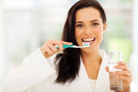 Brush your teeth regularly