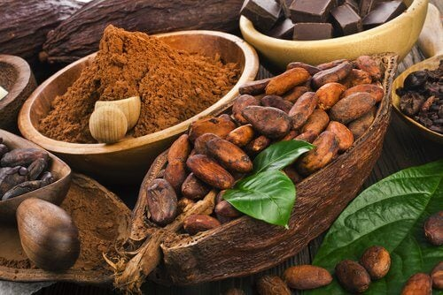 Foods that calm anxiety: cacao