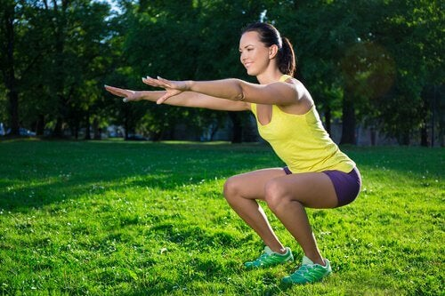 Squats for your glutes