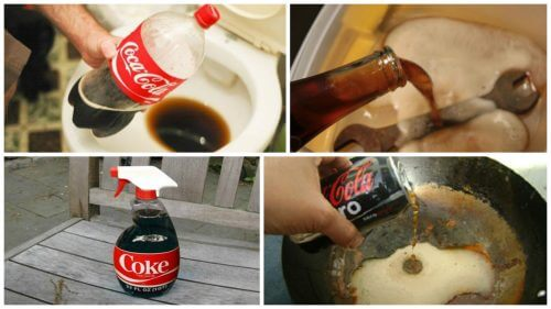Coca-Cola: 8 Curious Household Uses