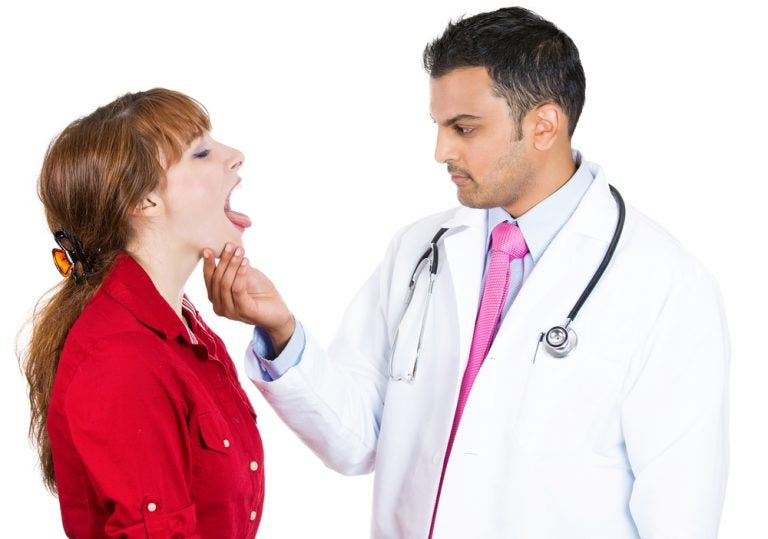 Symptoms of tongue cancer
