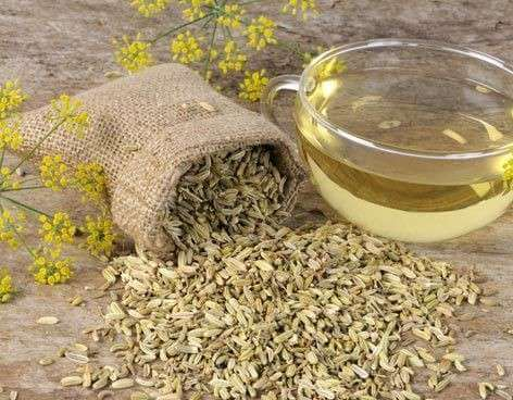 fennel seed tea for pink eye relief