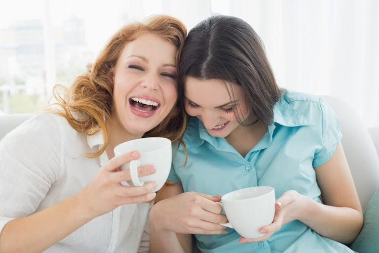 Friends will help you stay happy and healthy during menopause.