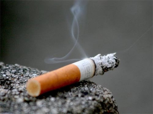 how to quit smoking: a cigarette