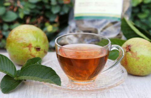 Blood sugar under control with guava leaf tea