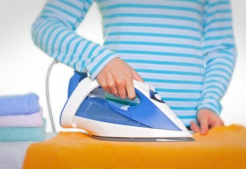 Ironing is easier with cornstarch