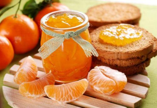 healthy jam recipe with mandarin oranges