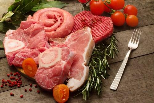 Rött kött till middag