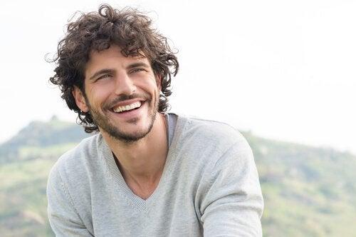 Single guy smiling