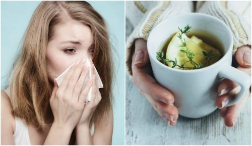 Soothe a Cough with Thyme, Lemon, and Honey Tea