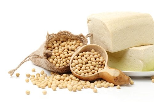 Soy is a source of protein