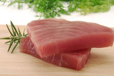 Tuna has a lot of protein