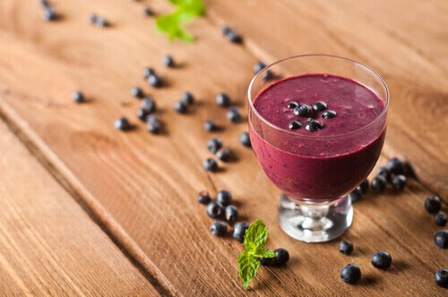 Increase your collagen production with blueberries.