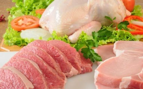 raw chicken and meats to prevent constipation