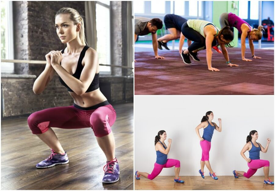 women exercising for better mental balance