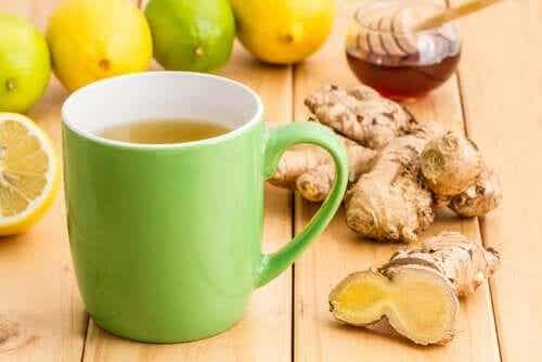 A Recipe for a Pound-Shedding Ginger Infusion