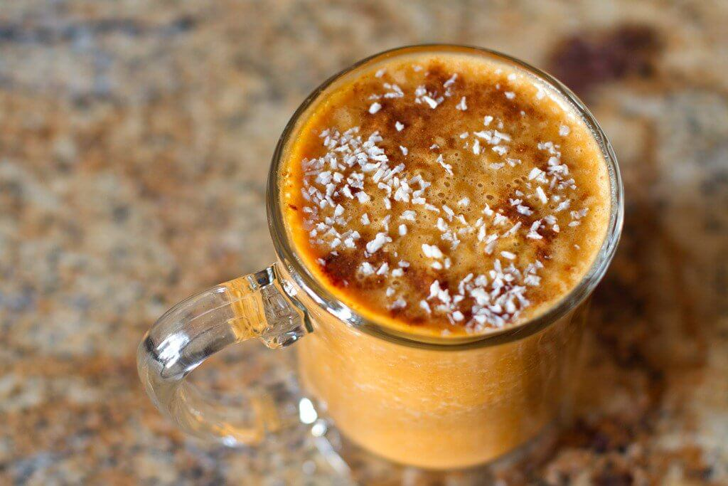 Carrot and chia smoothie