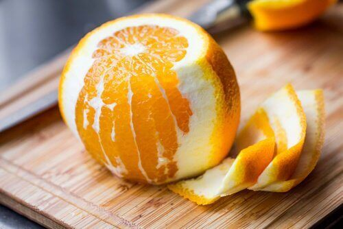 Orange to help combat constipation