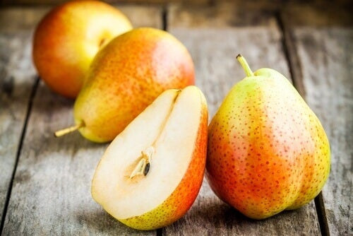 Pears to help combat constipation
