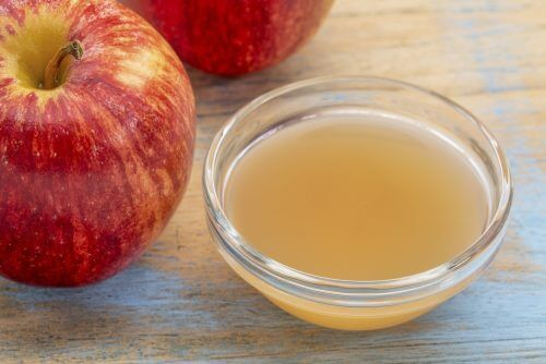 apple cider vinegar to treat keloid scars