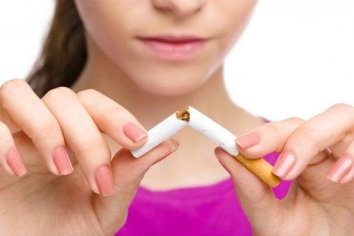 Don't smoke cigarettes