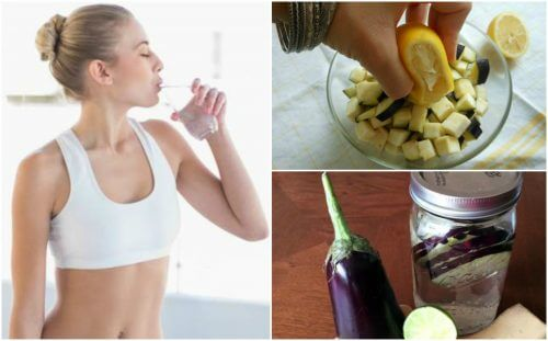 How to Make Lemon Water and Eggplant Water for Weight Loss