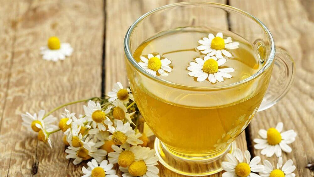 Chamomile, one of the carminative herbs.