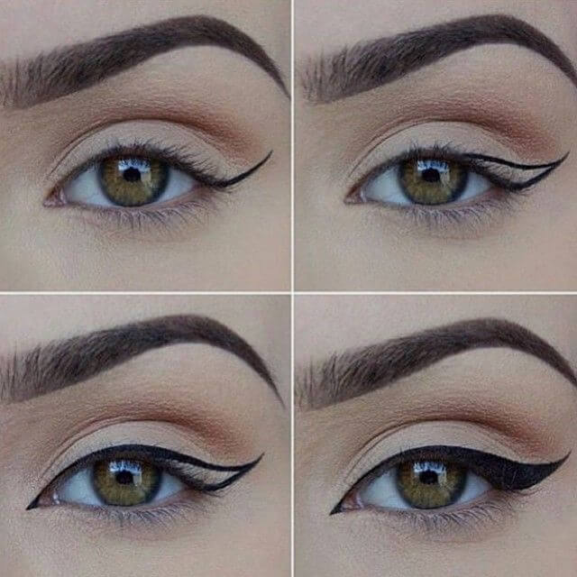 The cat-eye technique.
