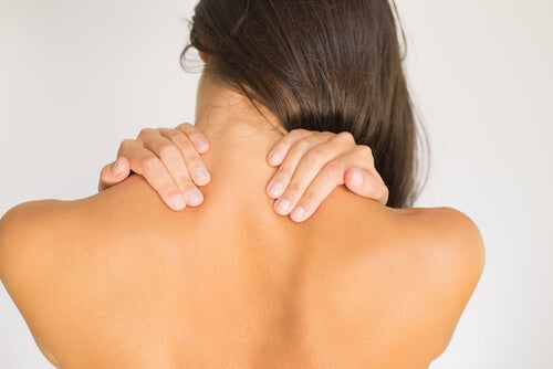 Stretch the back part of your neck