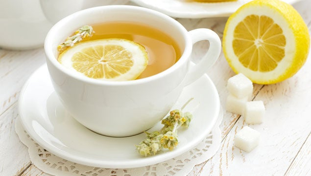 Lemon peel infusion.
