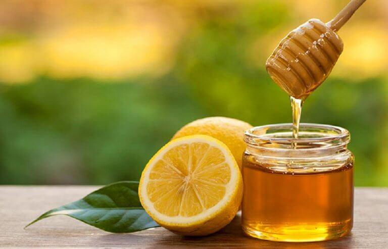 lemons with honey
