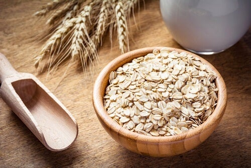 Fight blackheads with an oatmeal mask