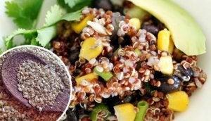 quinoa, corn, black bean recipe