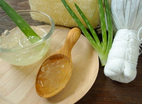 aloe vera to alleviate blisters