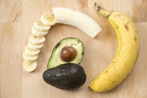 banana and avocado to alleviate blisters