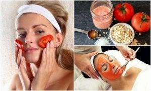 tomato beauty treatments