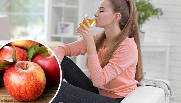 8 Benefits of Drinking Apple Juice