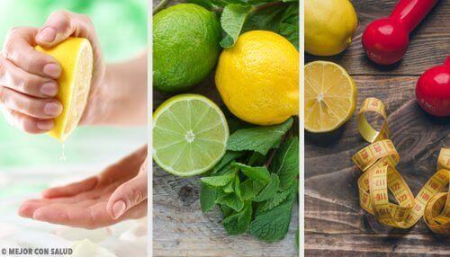 A few limes and lemons.