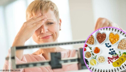 Ideal diet to lose weight during menopause