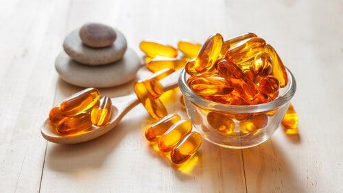 Kapslar av E-vitamin