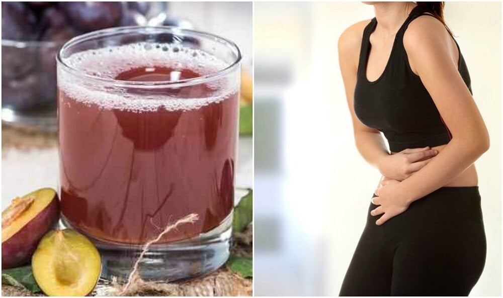 Relieve Constipation with this Plum, Fennel and Flax Seed Smoothie