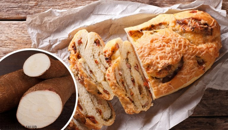 Cassava, Oat and Chocolate Bread Without Gluten, Lactose or Sugar