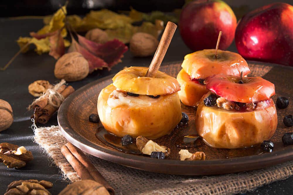 사과를 맛있게 먹는 방법 _ 구운 사과