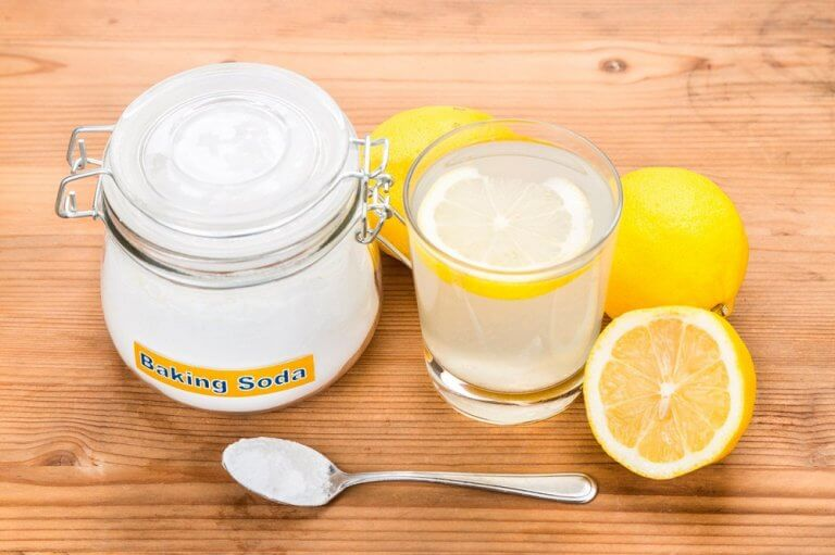 Baking soda and lemon.
