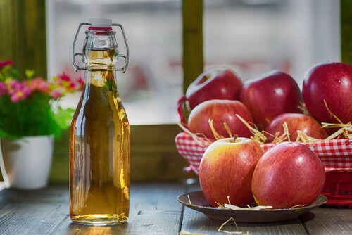 Apple cider vinegar to get rid of pesky insects